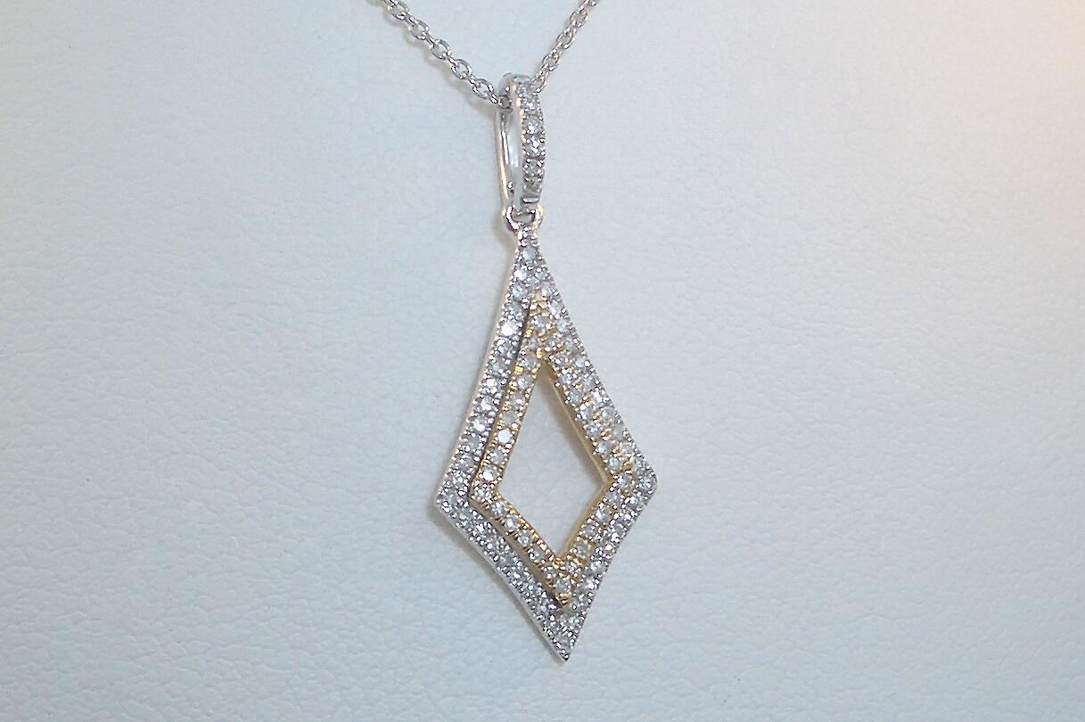Kite Diamond Pendant