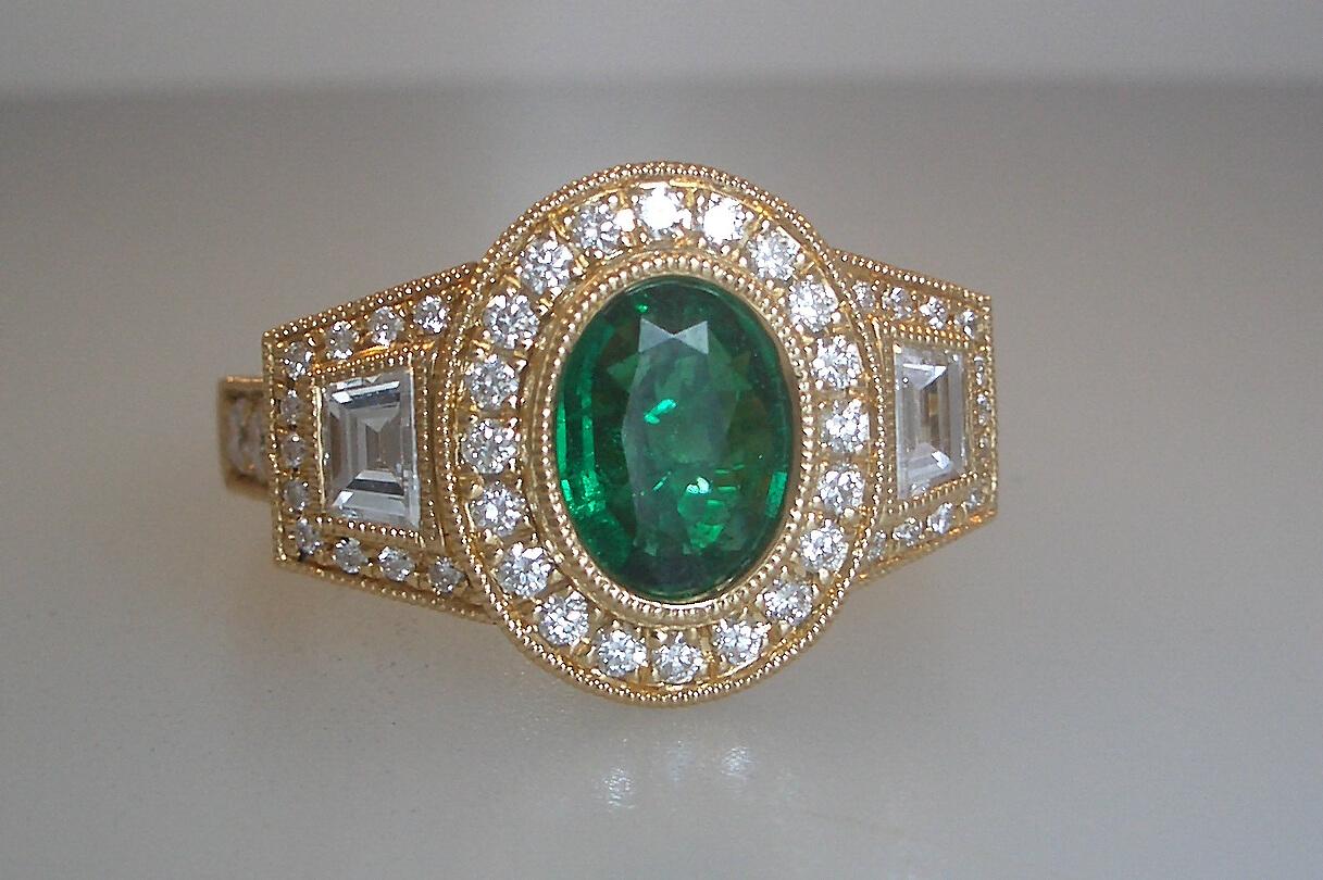 Alluring Emerald